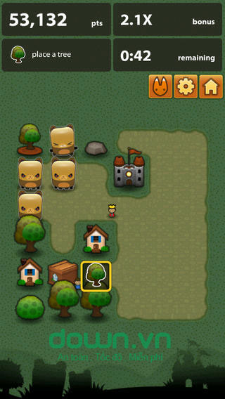 Triple Town cho iOS