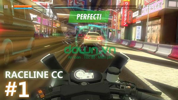 Tải Raceline CC cho iOS 1.2.0 - Game đua xe đường phố trên iPhone/iPad
