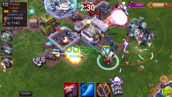 Tải game cuộc chiến robot miễn phí