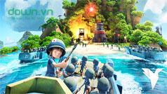 Cách chơi kết hợp quân đội trong game Boom Beach