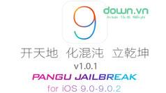 Cách jailbreak iOS 9 bằng công cụ của Pangu
