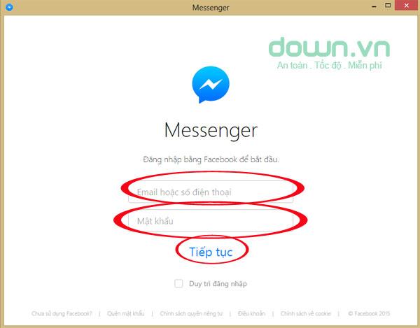 Cách cài đặt và sử dụng Facebook Messenger trên máy tính
