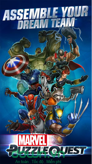 Tải game Marvel Puzzle Quest