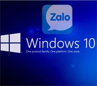 Cách cài Zalo trên Windows 10