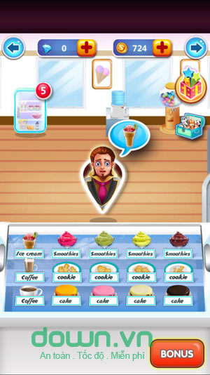 Ice Cream Maker for Android