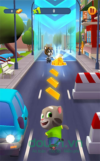 Download Game Talking Tom Gold Run cho iOS